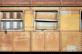 Goods section of a Train Carriage Asia
