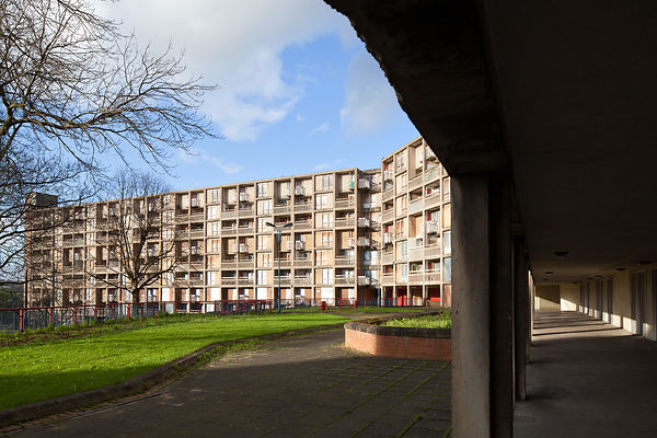 post war housing estate