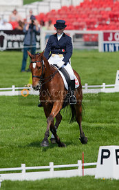 Jrina Giesswein (SUI) and Thunder III - Dressage