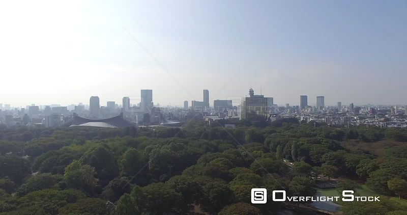 City Park and skyline Tokyo Japan -- Available in HD and 4k -- 4096 x 2160 - 2.4 GB - QuickTime Movie - Apple ProRes 422 - 62.4 MB/sec - 25fps --