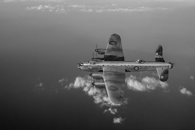 Lancaster W5005 black and white version