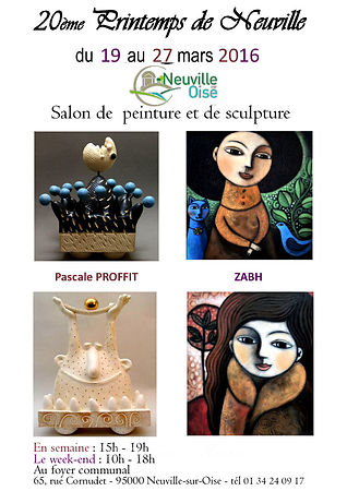 "Exposition ""Printemps de Neuville"" du 19 au 27 mars 2016 photos"