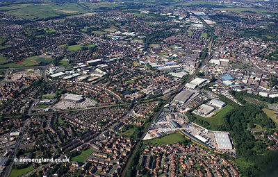 Rochdale from the air