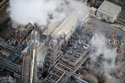 Aerial view of Shell's Stanlow Refinery, Ellesmere Port