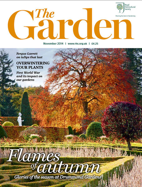 Drummond Castle; Publication: The Garden (RHS) photos