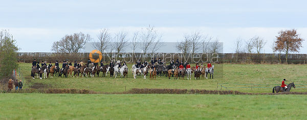 The Belvoir Hunt at The Wolds Farm 3/12