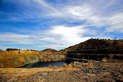 Disused Tungsten Mine in Australia