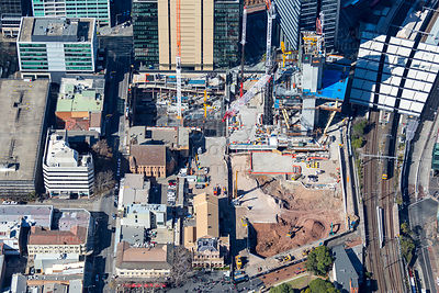 Parramatta Square Construction