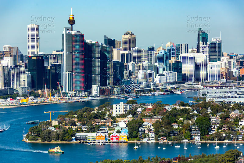 Balmain East and Barangaroo