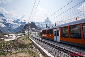 Matterhorn railway, Zermatt, Switzerland