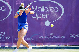 Sabine Lisicki (GER) wining against Kiki Bertens (NED) the first round at the Mallorca Open 2017 in Santa Ponsa - Mallorca