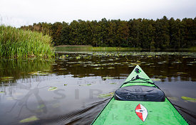 Kayak on a Way to the National Park