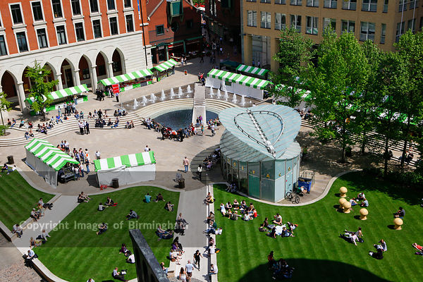 The Farmers Market at Brindleyplace, Birmingham UK