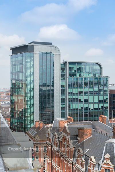 45 Church Street offices in Birmingham City Centre, England