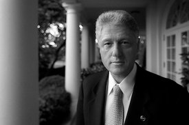 Presidente William Clinton, La Casa Blanca.