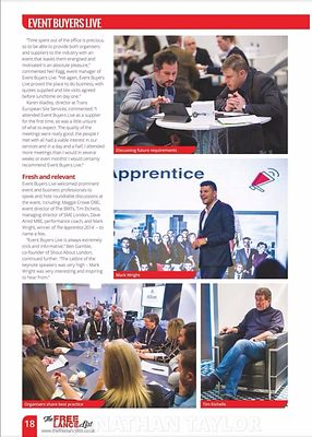Stand Out magazine - Event Buyers Live 2017 - page 18 - March 2017