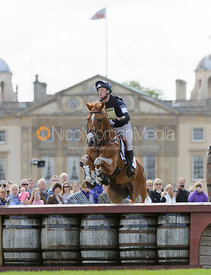 Oliver Townend and ARMADA - Cross Country - Mitsubishi Motors Badminton Horse Trials 2013.