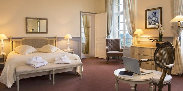 Shooting photo hotel de charme - suite chateau