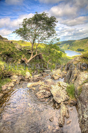 Small Water Beck Looking Over Haweswater