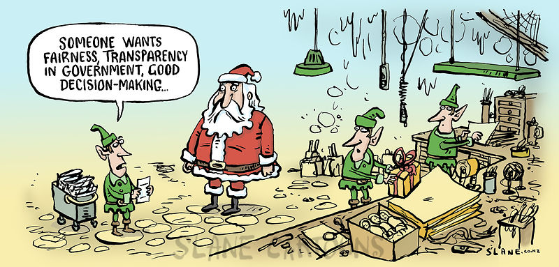 Santa's good governnance