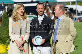Murray Lamperd - prizes, Burghley Horse Trials 2014.