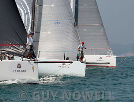 St Regis China Coast Regatta 2013 - Race day 1 - IRC 1 start