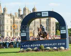 Joseph Murphy and SPORTSFIELD OTHELLO, cross country phase, Land Rover Burghley Horse Trials 2018