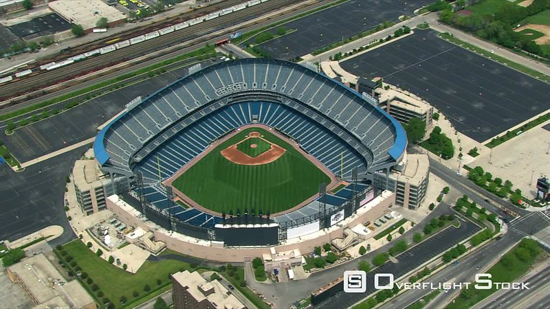 Partial orbit of US Cellular Field in Chicago.