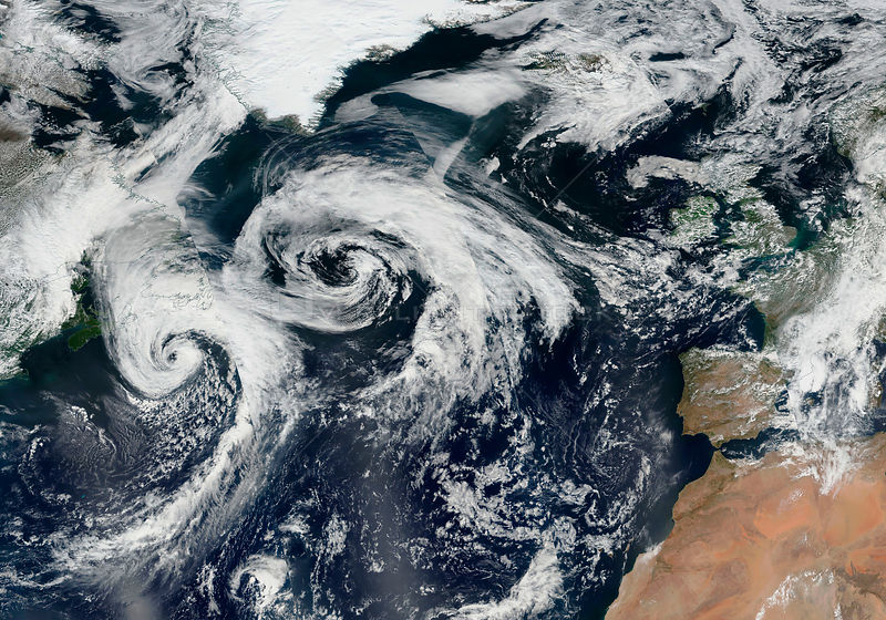 Tropical Cyclone 10 Heading to the British Isles