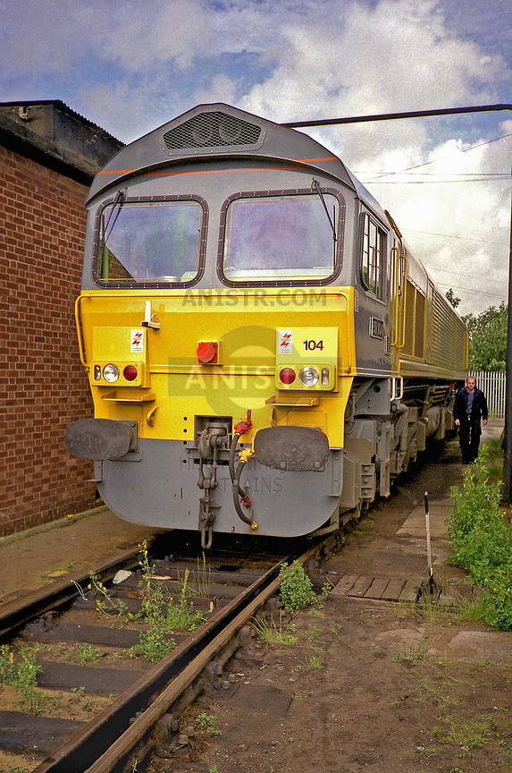 Diesel loco Class 59 59104 Hither Green