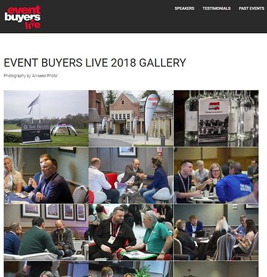 Stand Out website - Event Buyers Live gallery - February 2018