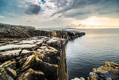 The Burren Meets the Atlantic- County Clare, Ireland