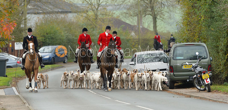 The Quorn Hunt at Jubilee House photos