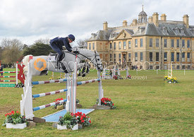 Vittoria Panizzon and BOROUGH PENNYZ - CIC3* - Belton Horse Trials 2014