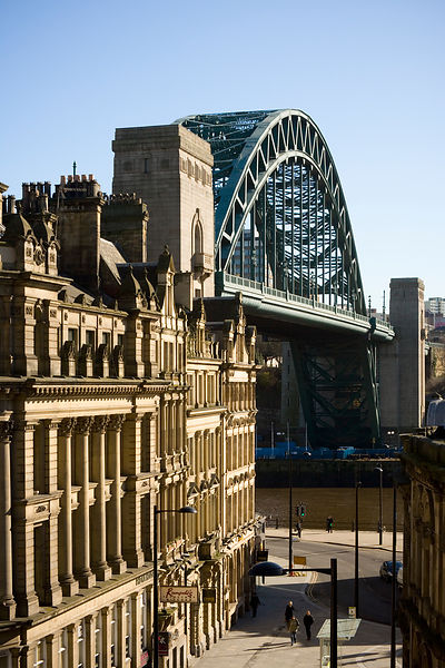 Tyne Bridge in Newcastle
