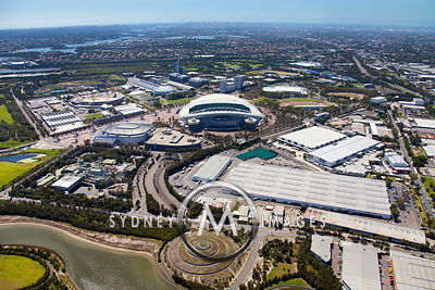 Olympic Park to Sydney