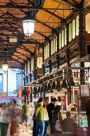 San Miguel covered market, Madrid, Spain