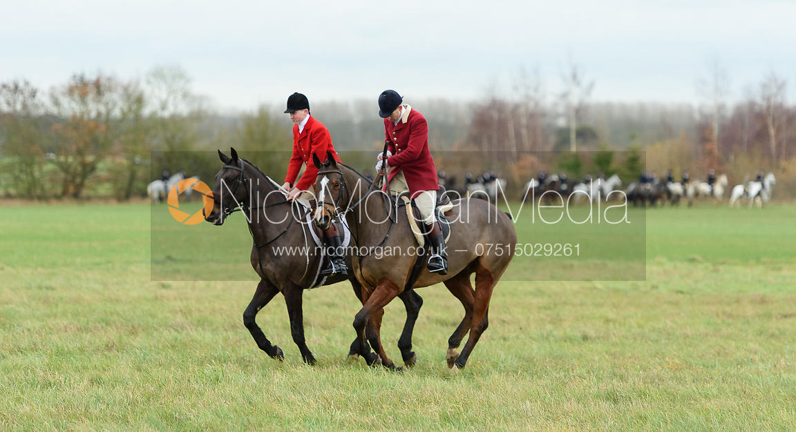 Hartley Crouch and Dan Cherriman. The Holderness Hunt visit The Essex and Suffolk