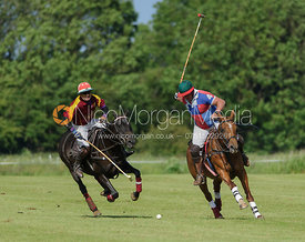 Grant Collett and Sebastian Funes - Findlay Trophy polo 2015