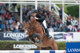Pieter Devos wins the Longines Cup of the City of Barcelona at the Longines FEI Nations Cup™ Jumping Final