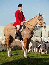Quorn Hunt Whipper-in Edward Winnington