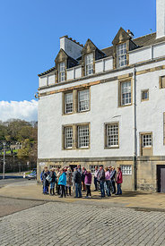 Tour group Holyrood