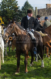The Belvoir Hunt at Farrier's Forge 16/2/13