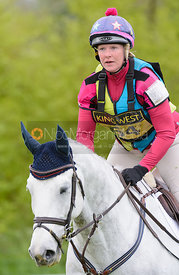 Vicky Laing and BALTIMORE V D M - Brigstock International Horse Trials, Rockingham Castle 2014