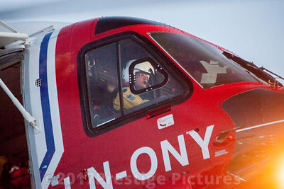 Pilot of Bristow Search and Rescue Helicopter operating from Tromsø