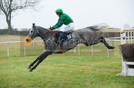 Race 4 Ladies Open - Cottesmore Hunt Point to Point, Garthorpe 4/3/12