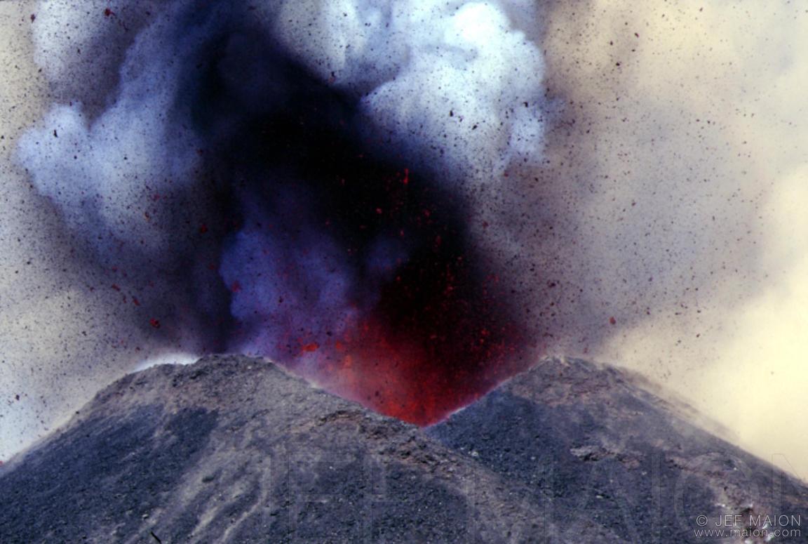 Eruption of the South-East Crater