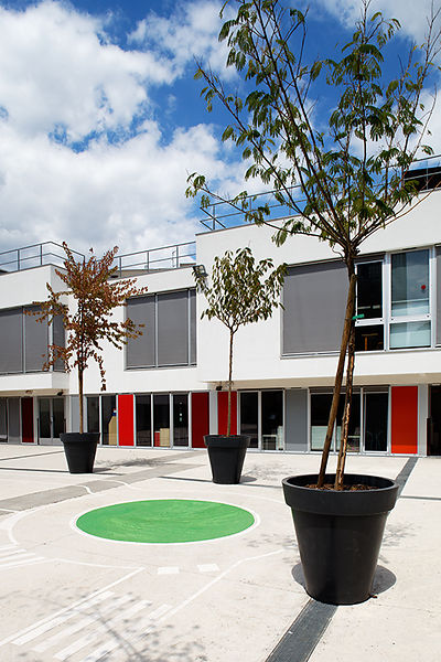 Ciments Calcia - Agence BVFG - Ecole maternelle Camille Claudel - Courbevoie