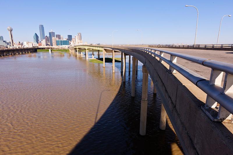 Trinity River in Flood