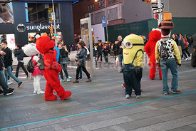 Costumed Characters, Times Square